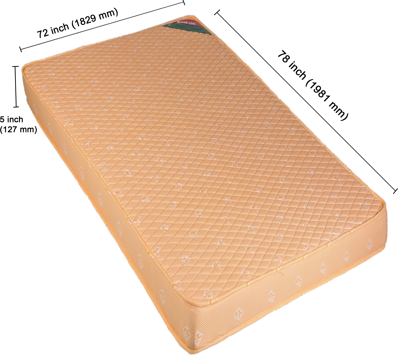 View Kurlon Ortho 5 inch Single Coir Mattress Furniture (Kurlon)