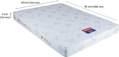 Kurlon Relish 6 inch Queen Spring Mattress(78x60x6 inch)
