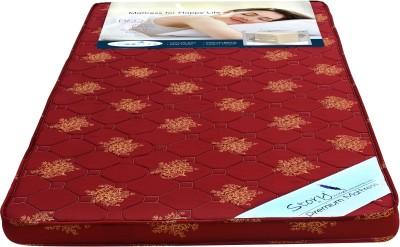 Story@home FOAMMAT 4 inch Single Foam Mattress(72x35x4 inch)