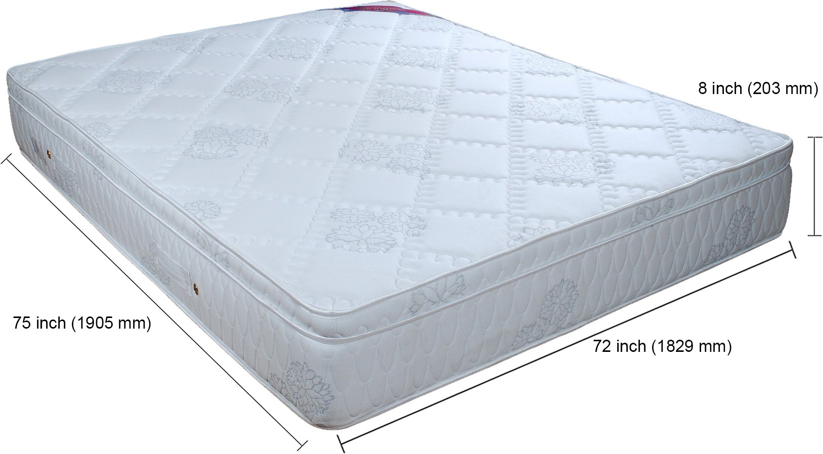 Springwel Luxury Collection 8 inch King Spring Mattress