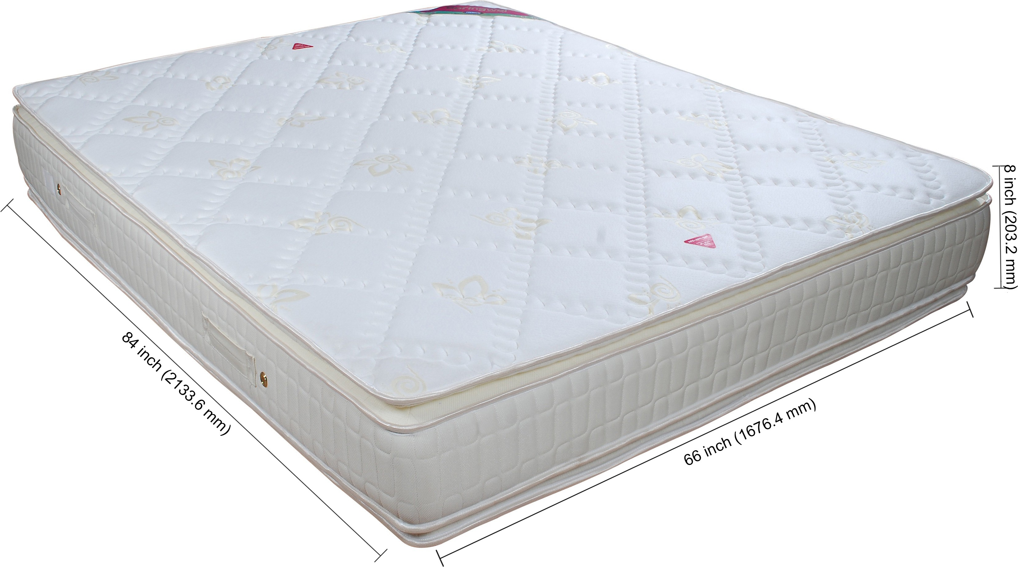 Springwel Premium Collection 8 inch Queen Spring Mattress