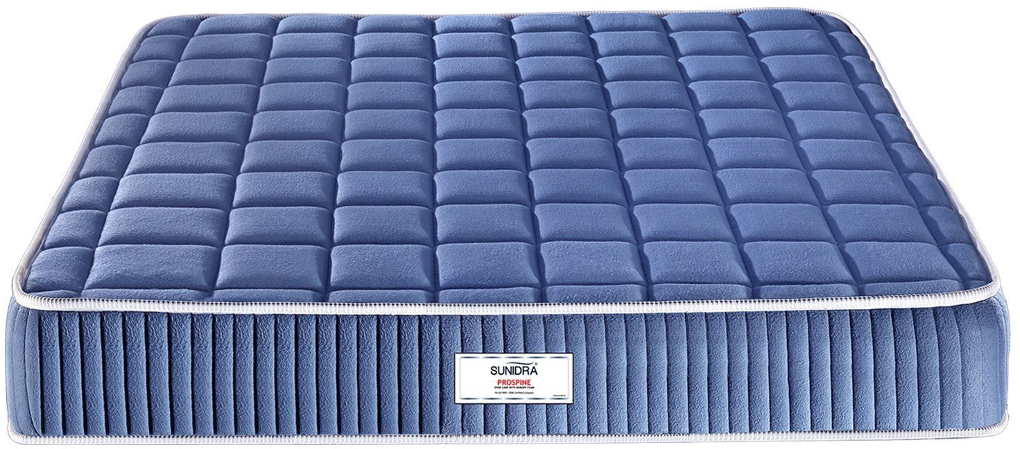 View Sunidra Prospine 6 inch Double Spring Mattress Furniture (Sunidra)