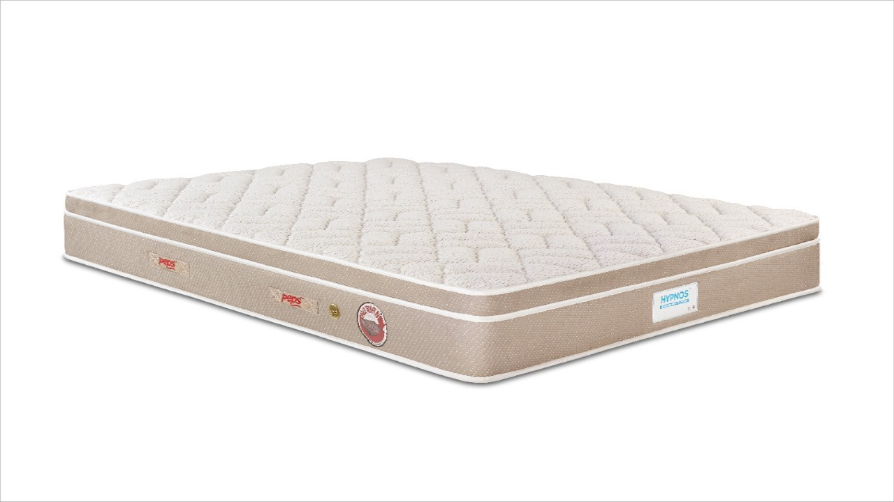 View Hypnos Comfort Pocketed Euro Top 6 inch Double Spring Mattress(Pocket Spring) Furniture (Hypnos)