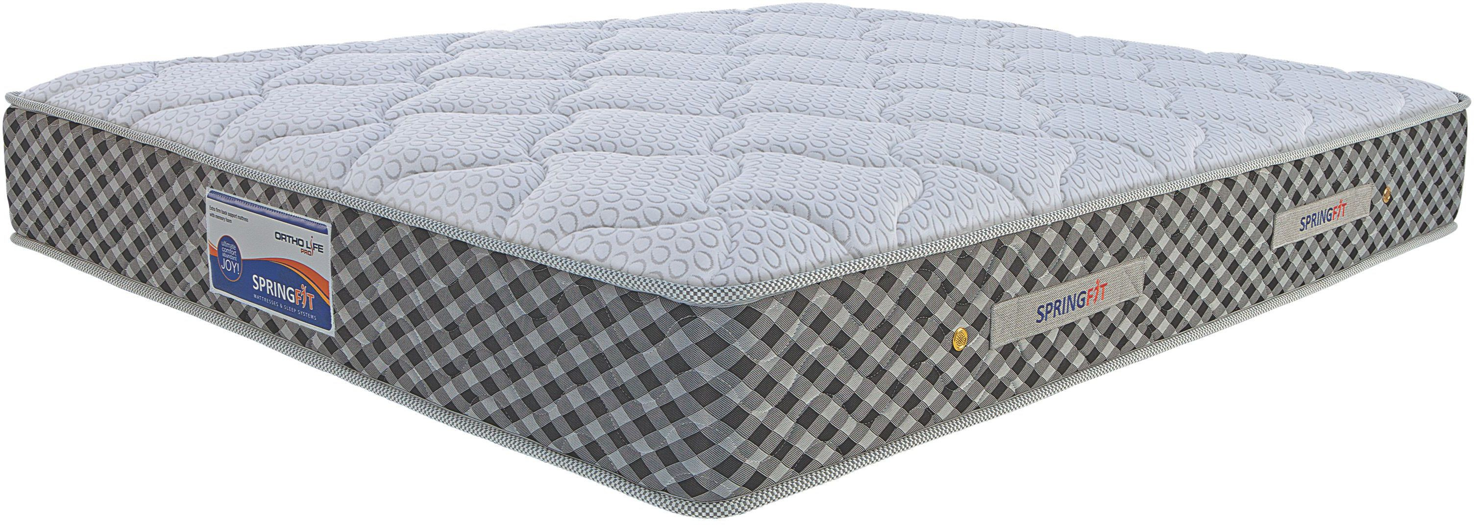 SPRINGFIT ORTHOPRO75728 8 inch King Spring Mattress