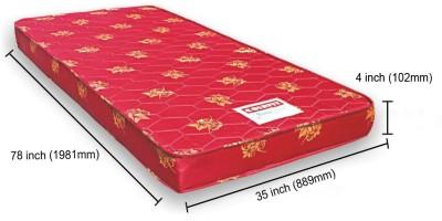 COIRFIT BONE ZONE 4 inch Single Foam Mattress