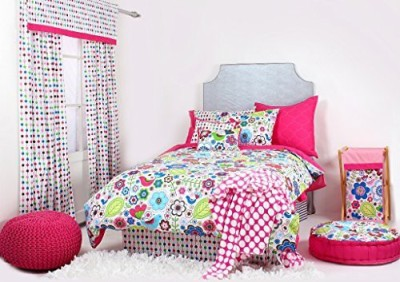 Bacati Size Bed Skirt(Mulitcolor)