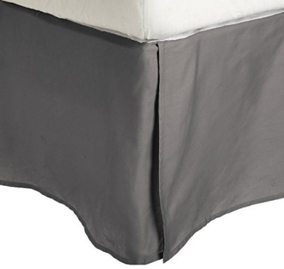 Impressions Size Bed Skirt(Silver)