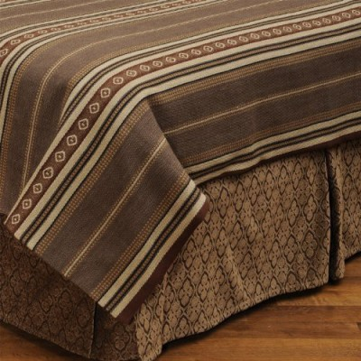 Wooded River Size Bed Skirt