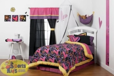 One Grace Place Size Bed Skirt(pink)