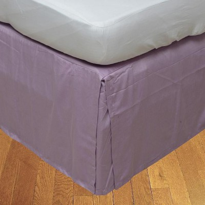LNT Fitted Single Size Bed Skirt(Lilac Box Pleat Pack of1)
