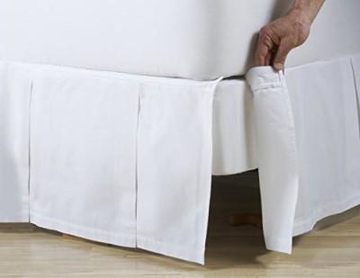 D. Kwitman & Son Size Bed Skirt(White)
