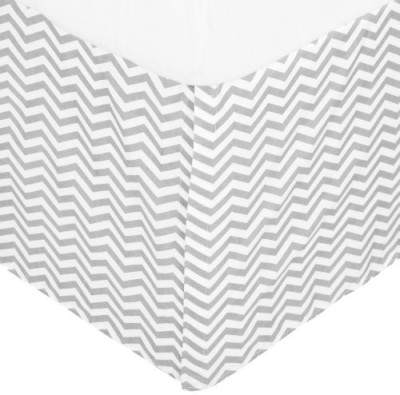 American Baby Company Size Bed Skirt(White)