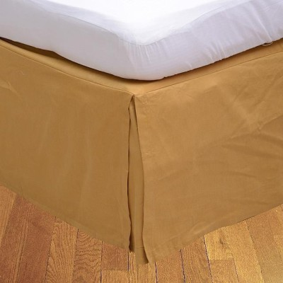 LNT Fitted Single Size Bed Skirt(Gold Box Pleat Pack of1)