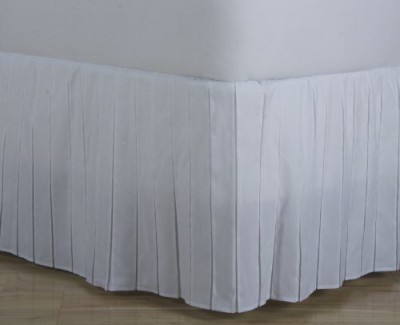D. Kwitman and Son Size Bed Skirt(White)