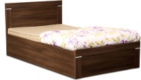 Debono Solitaire AD BS Bed Engineered Wood Single Bed With Storage(Finish Color -  Acacia Dark Matt Finish)