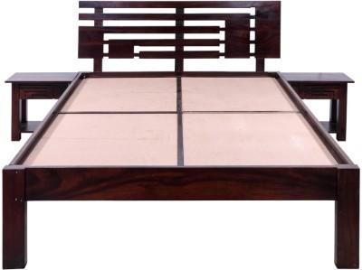 Evok Federal Solid Wood Queen Bed