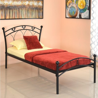 @home by Nilkamal Hydra Metal Single Bed(Finish Color - NA)