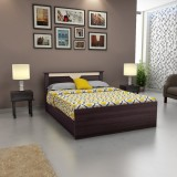 Woodpecker Engineered Wood Queen Bed Wit...
