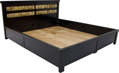 Woodpecker Solid Wood King Bed With Storage