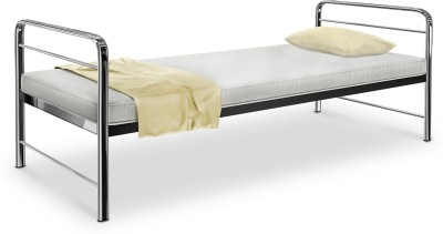 Camabeds Benne Single with Chrome Arms Metal Single Bed