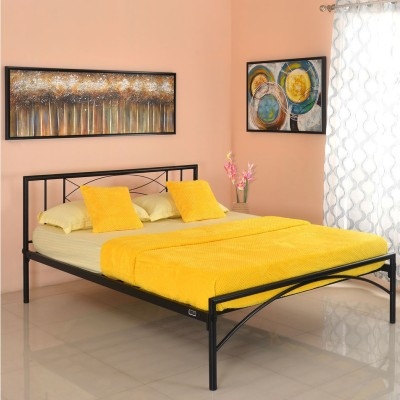 @home by Nilkamal Ursa Metal Queen Bed(Finish Color -  NA)
