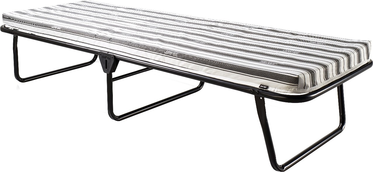 View Jay-Be Metal Single Bed(Finish Color -  Black  (Mattress Included)) Furniture (Jay-Be)