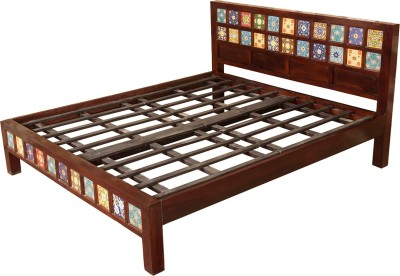 Induscraft Solid Wood Queen Bed