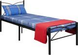 FurnitureKraft 30inch Metal Single Bed (...