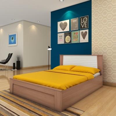 HomeTown AMBRA Engineered Wood Queen Bed With Storage