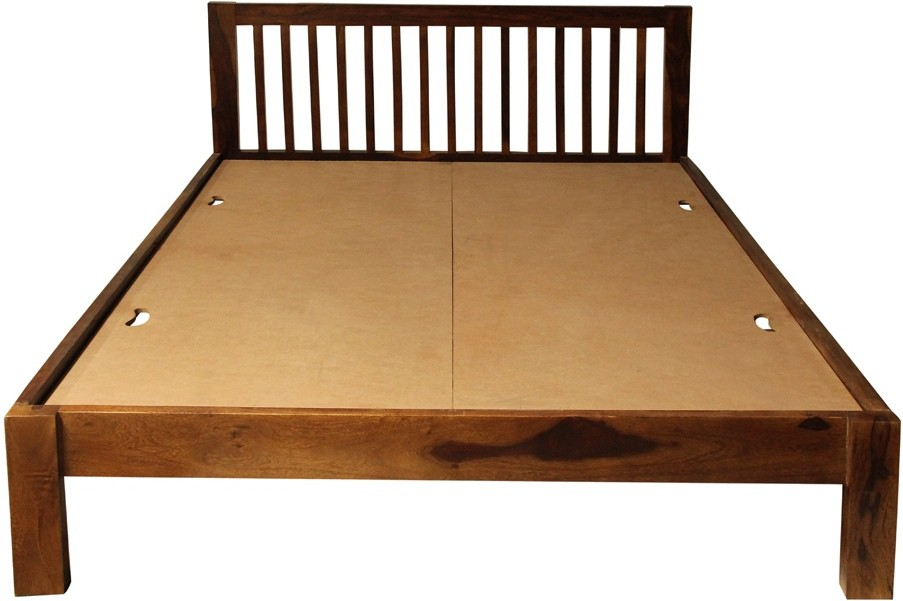 TEZERAC Solid Wood Queen Bed