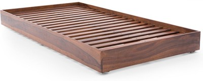HomeEdge Solid Wood Single Bed(Finish Color -  PROVINCIAL TEAK)