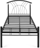 Nilkamal Lucas Metal Single Bed (Finish ...