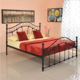 @home by Nilkamal Emma Metal Queen Bed (...