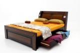 Furnicity Engineered Wood King Bed With ...