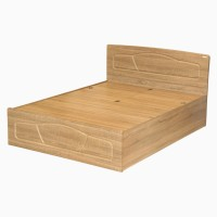 Godrej Interio Eudora Engineered Wood Queen Bed With Storage(Finish Color -  Sonoma Oak)