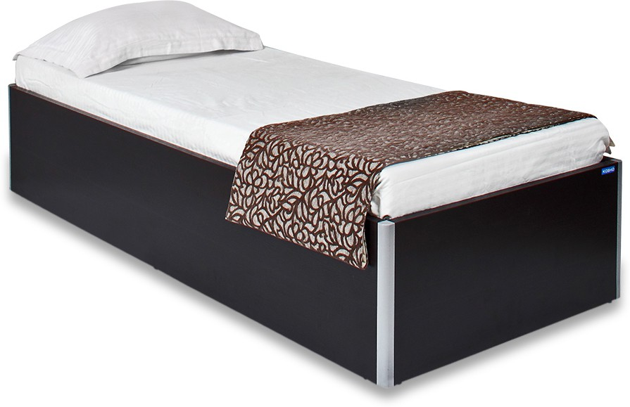 View Spacewood Day Engineered Wood Single Bed With Storage(Finish Color -  Natural Wenge Woodpore) Furniture (Spacewood)