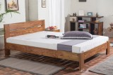 HomeEdge Solid Wood Queen Bed (Finish Co...