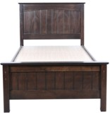 HomeTown Maurine Solid Wood Single Bed (...