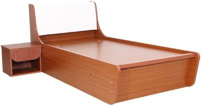RAWAT Engineered Wood Single Bed With Storage(Finish Color - Sapheli)