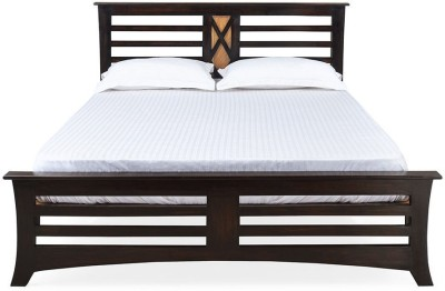 @home by Nilkamal Edge Solid Wood Queen Bed(Finish Color -  NA)