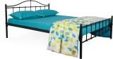 FurnitureKraft Double Metal Queen Bed (F...