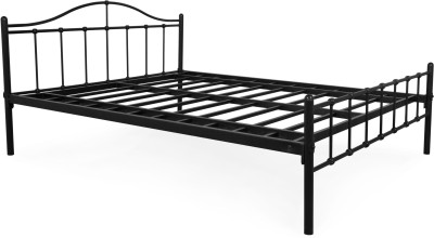 FurnitureKraft Metal Queen Bed