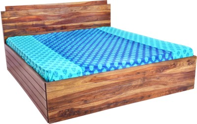 Nesta Furniture Cochin Solid Wood King Bed With Storage