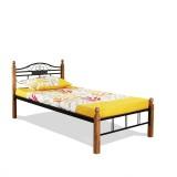FurnitureKraft Metal Single Bed (Finish ...