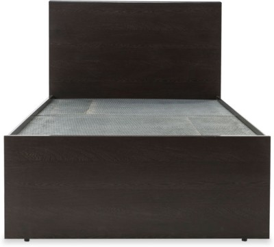 Durian SPRUCE Engineered Wood Single Bed(Finish Color - Wenge)