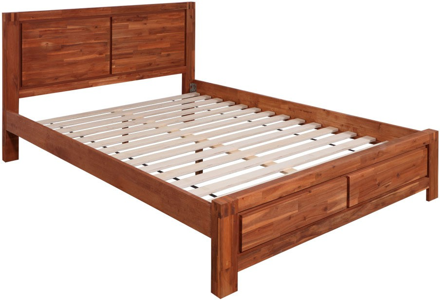 Evok Kimberley Solid Wood Queen Bed
