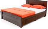 Furnicity Engineered Wood Queen Bed With...