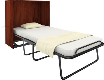 Camabeds Wallee Cabinet Folding Space Saver Metal Single Bed