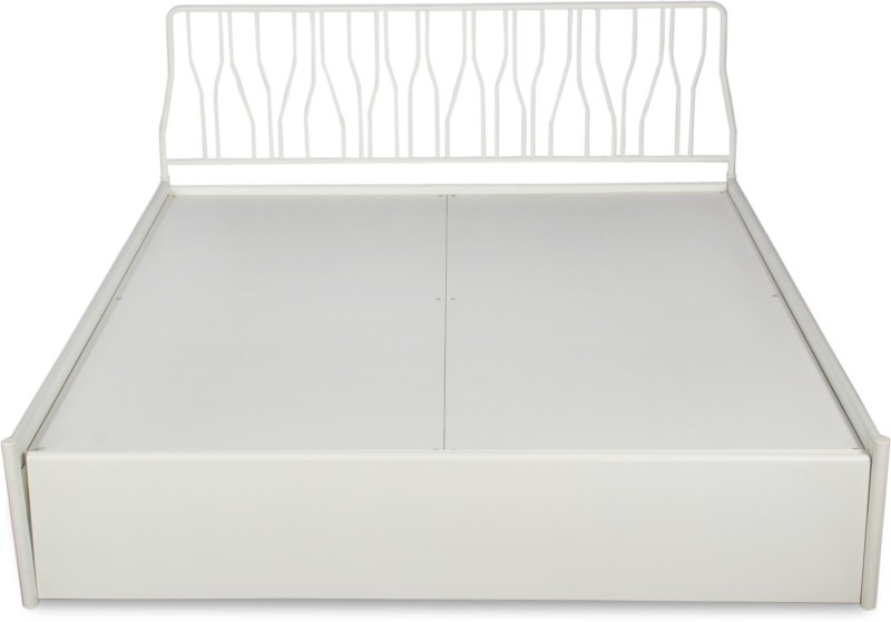 2b95682c144 Godrej Interio Liva Jive Metal King Bed With Storage(Finish Color - White)