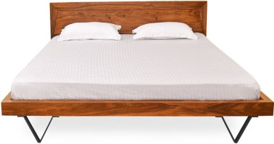 @home by Nilkamal Axial Engineered Wood Queen Bed